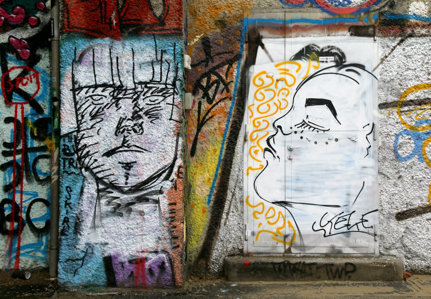 Vienna street art by the canal 17
