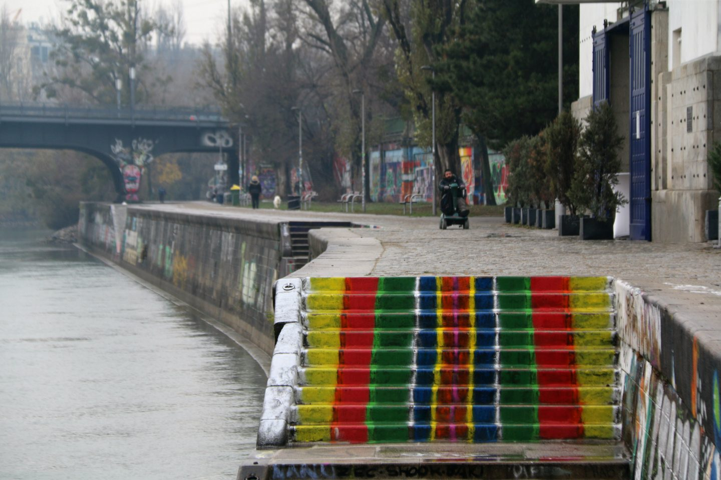 Vienna street art by the canal 22