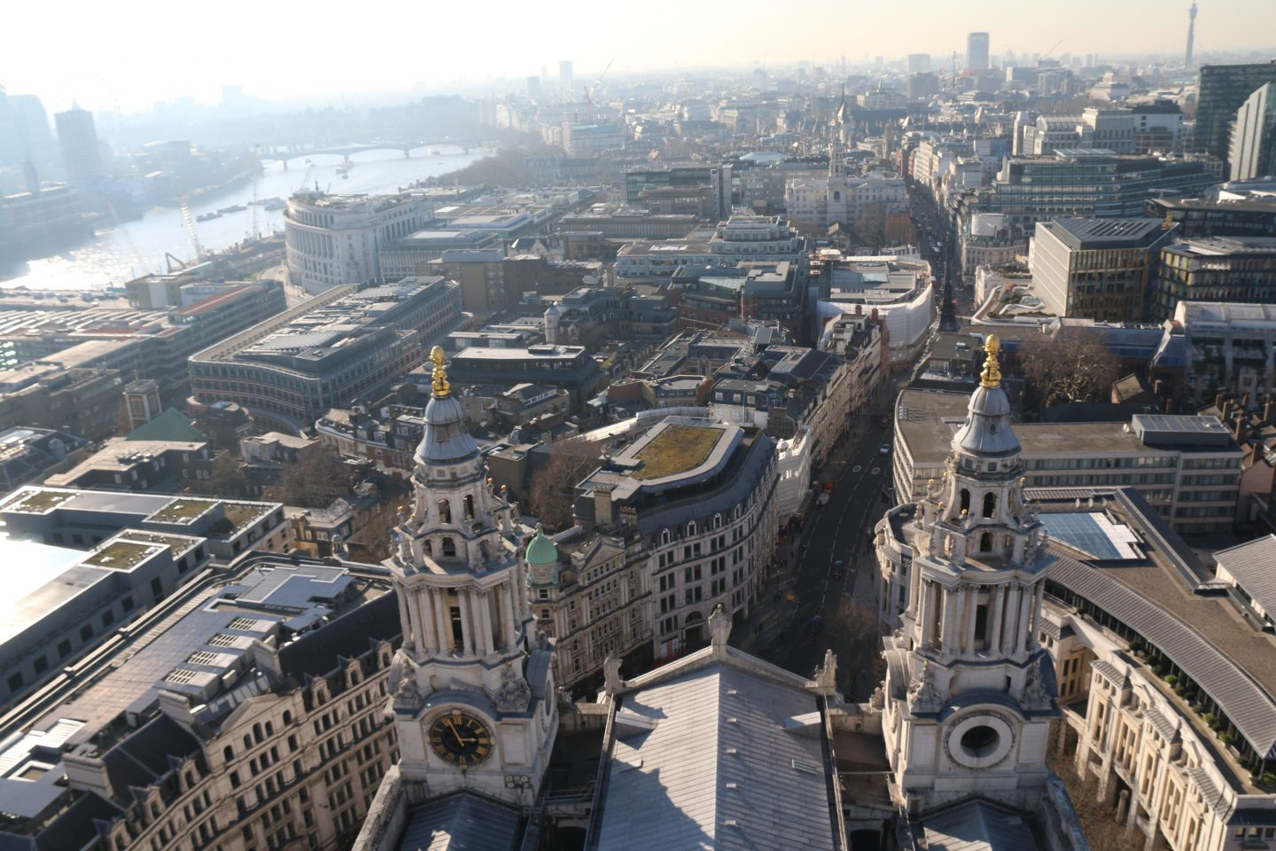 View  from Saint Paul's Cathedral