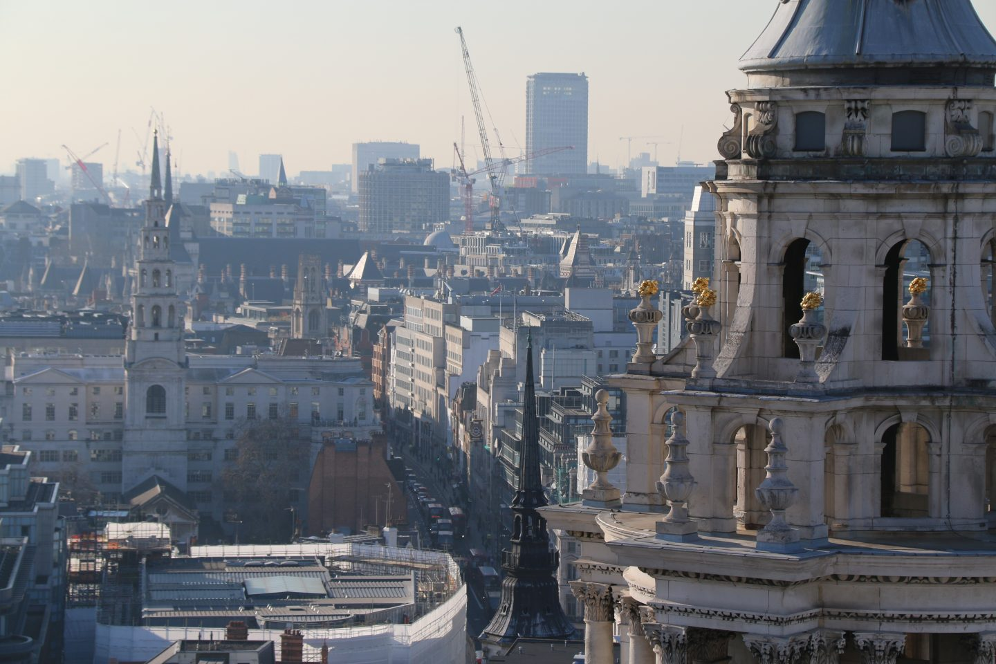 View from Saint Paul's Cathedral 4