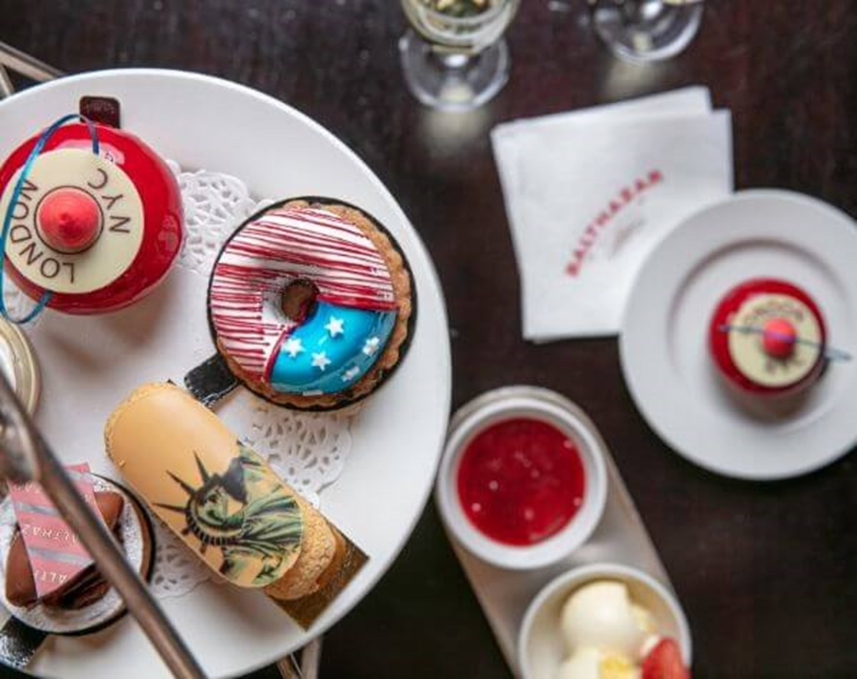 Balthazar afternoon tea Covent Garden London