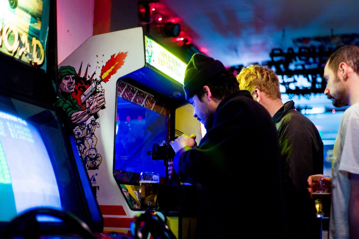 the four quarters retro arcade games peckham london