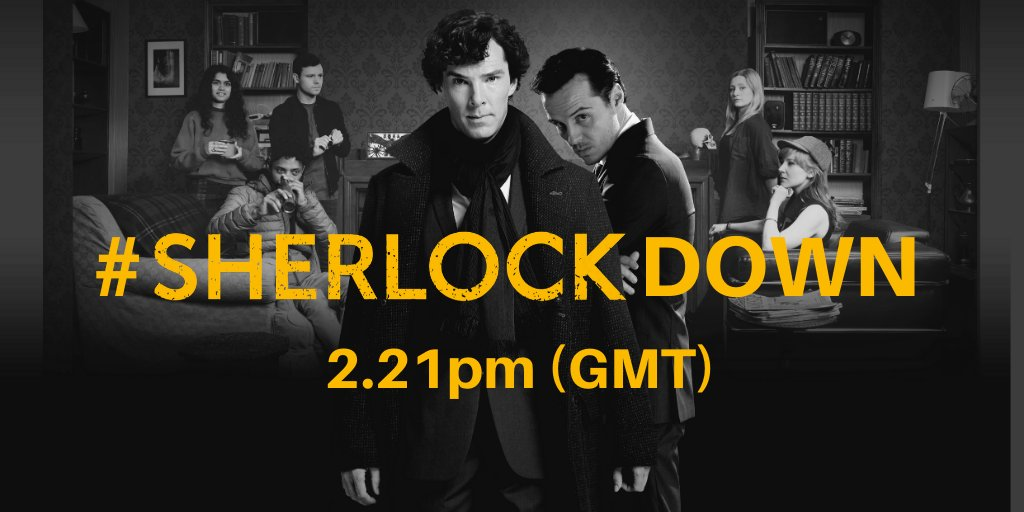 The Official Live Game has launched #SherLOCKDOWN