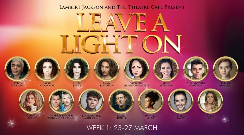Theatre cafe London Leave a light on West End actors streaming