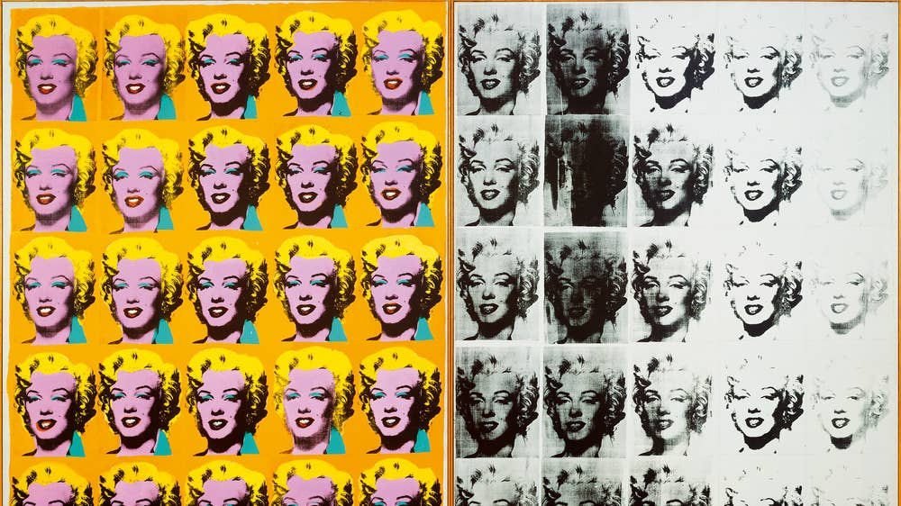 Andy Warhol exhibition at the Tate Modern online