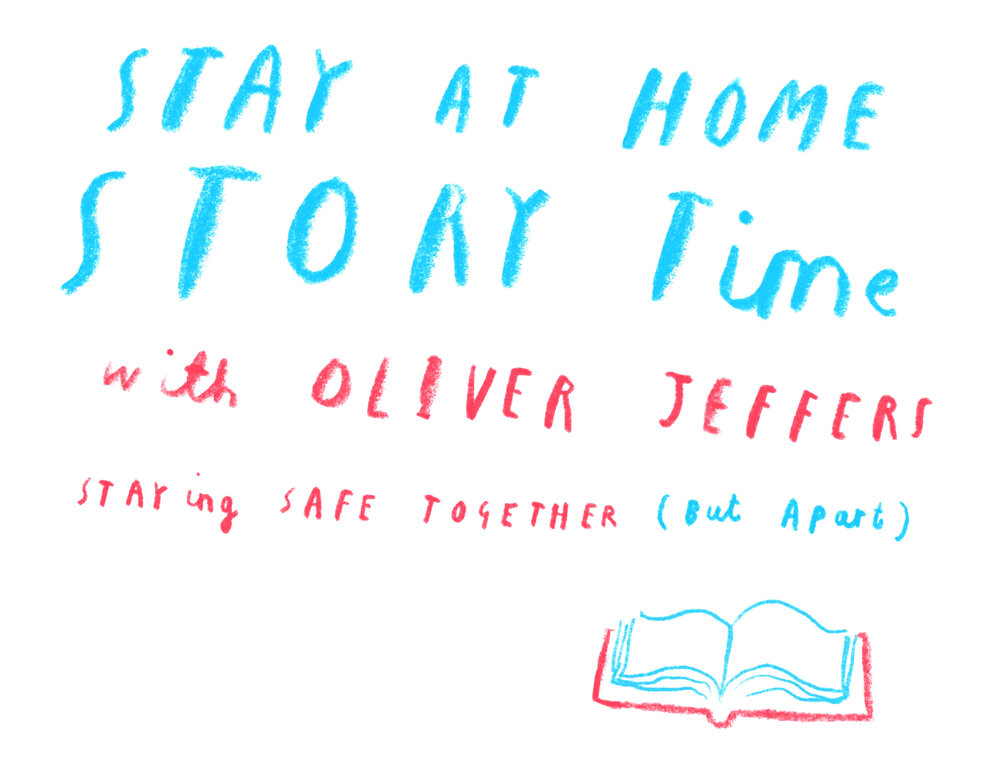 Stay at home storytime with Oliver Jeffes