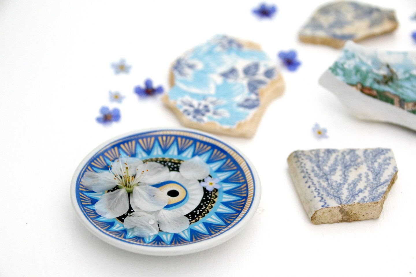 fragments ceramics travels  memories  greece