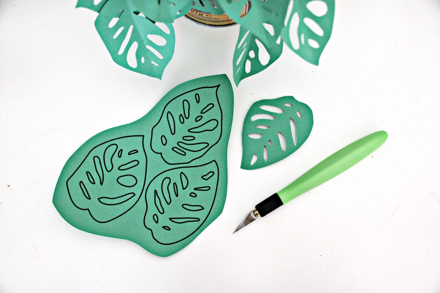 DIY make Your Own Paper Plant #WayfairDIY Together at home 3
