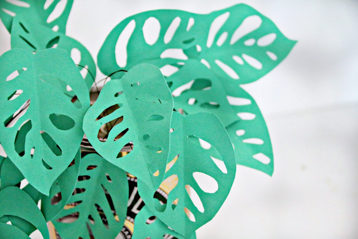 DIY make Your Own Paper Plant #WayfairDIY Together at home 5