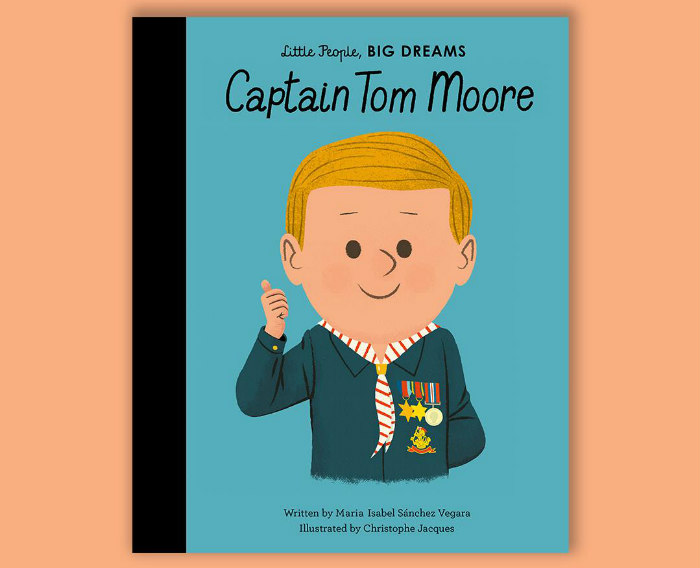 Captain Tom Moore Little People Big Dream