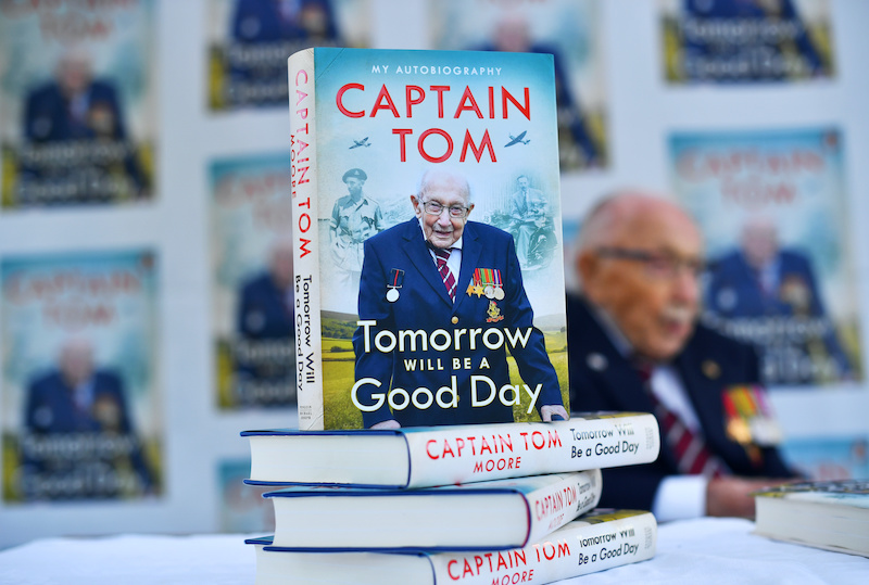 Captain Sir Tom Moore Tomorrow will be a good day