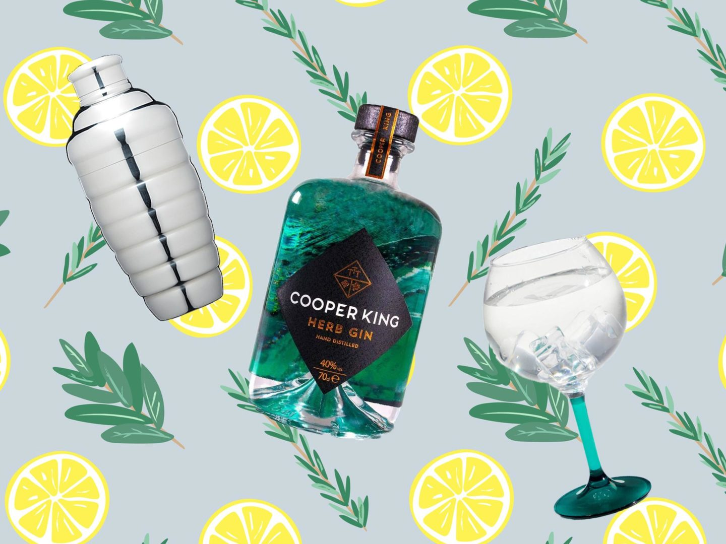 Cooper King gin sustainable