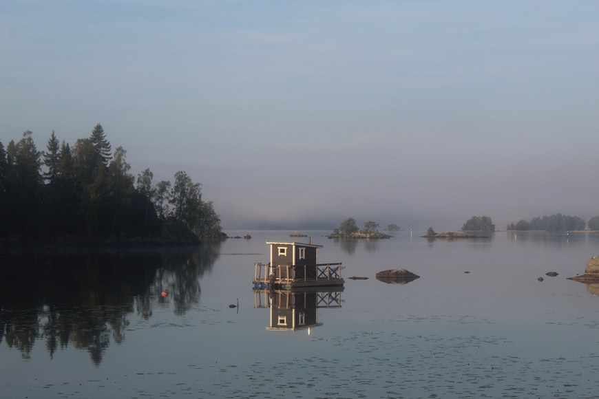 how to live in Finland like a local lake